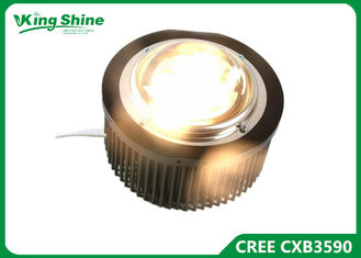 Plant Led Grow Light Cree , Led Grow Lamp Pre - Drilled Passive Heatsink